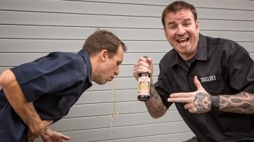 Jason & Ben Conduct a Blind Taste Test of 5 Craft Beers