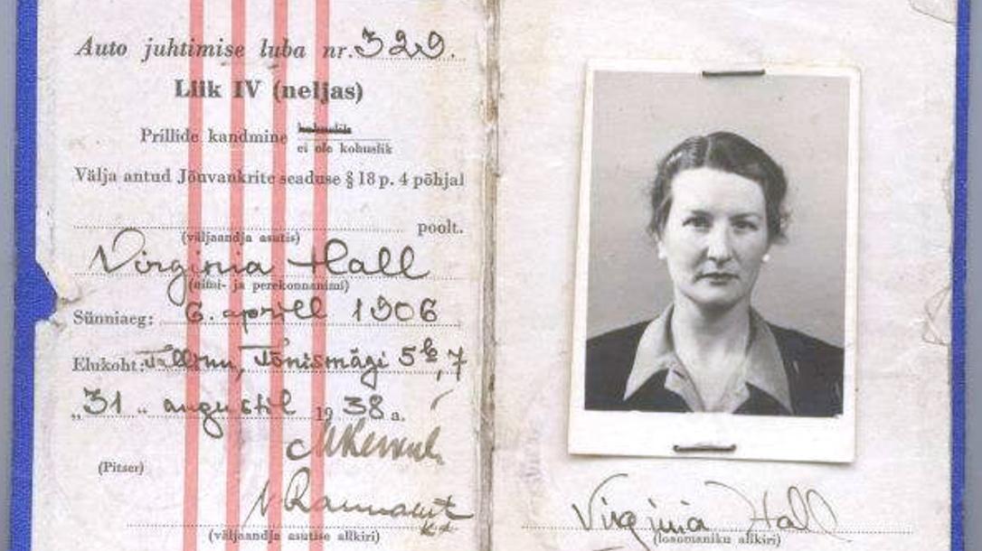Virginia Hall's passport