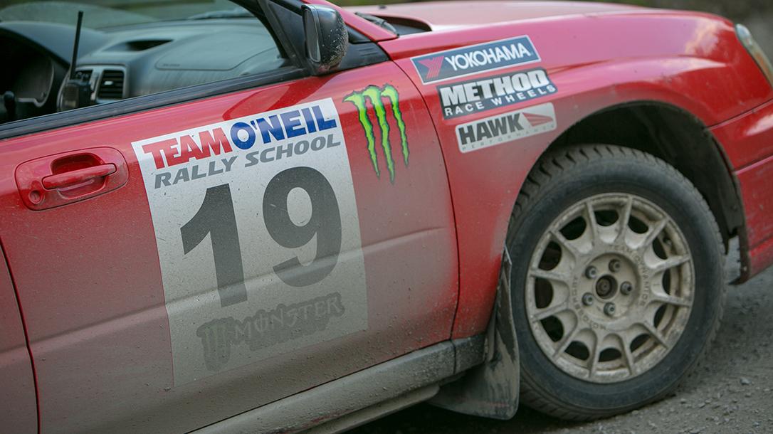 Rally school car number 19