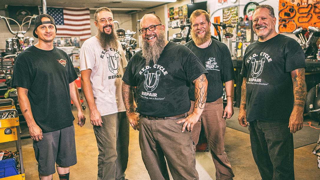 FTD Cycles crew in Phoenix, Arizona