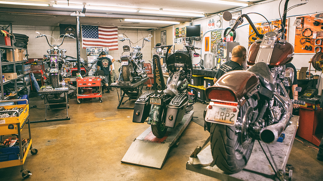 Working garage for real gearheads.