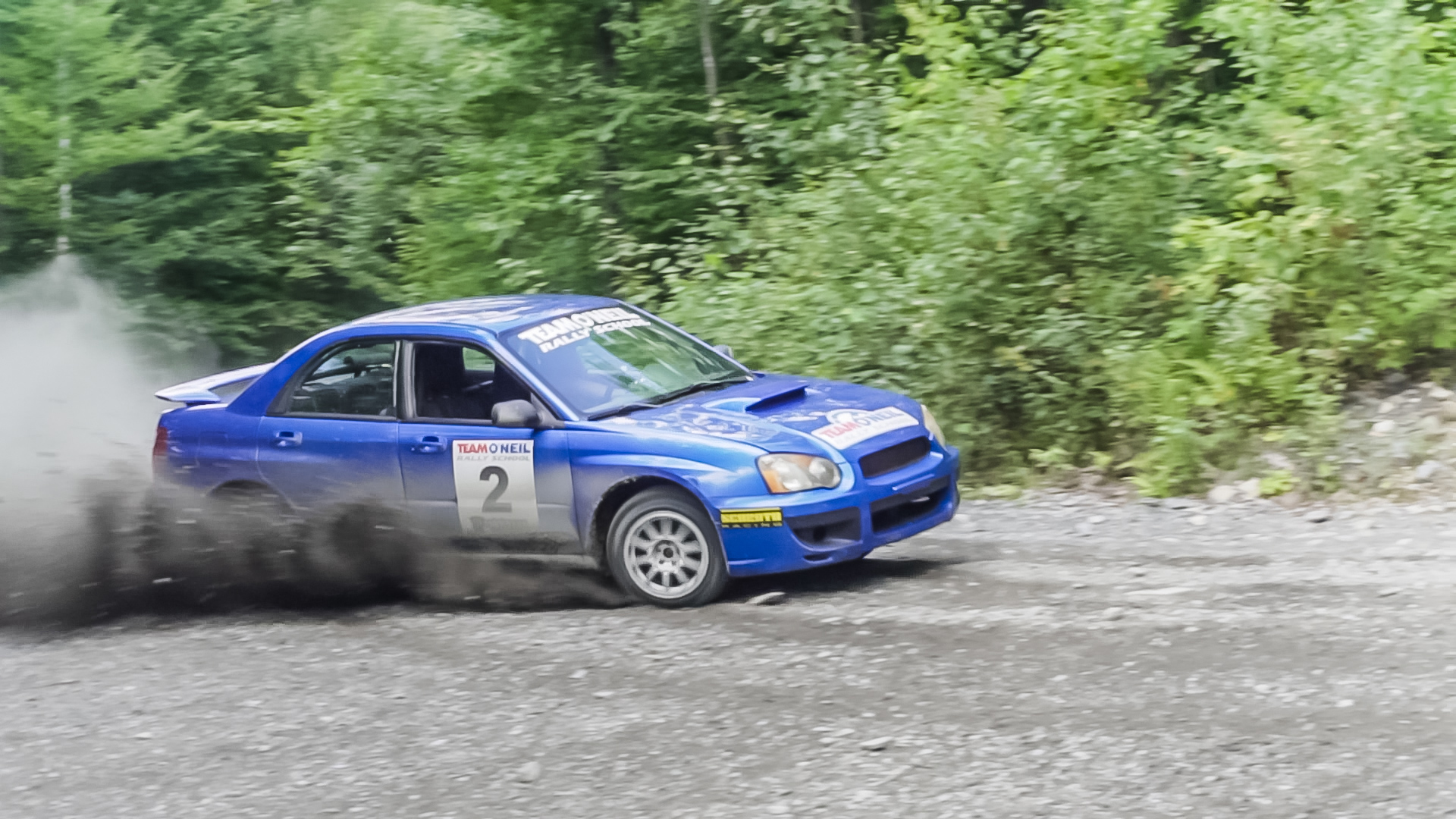 Rally School track pic