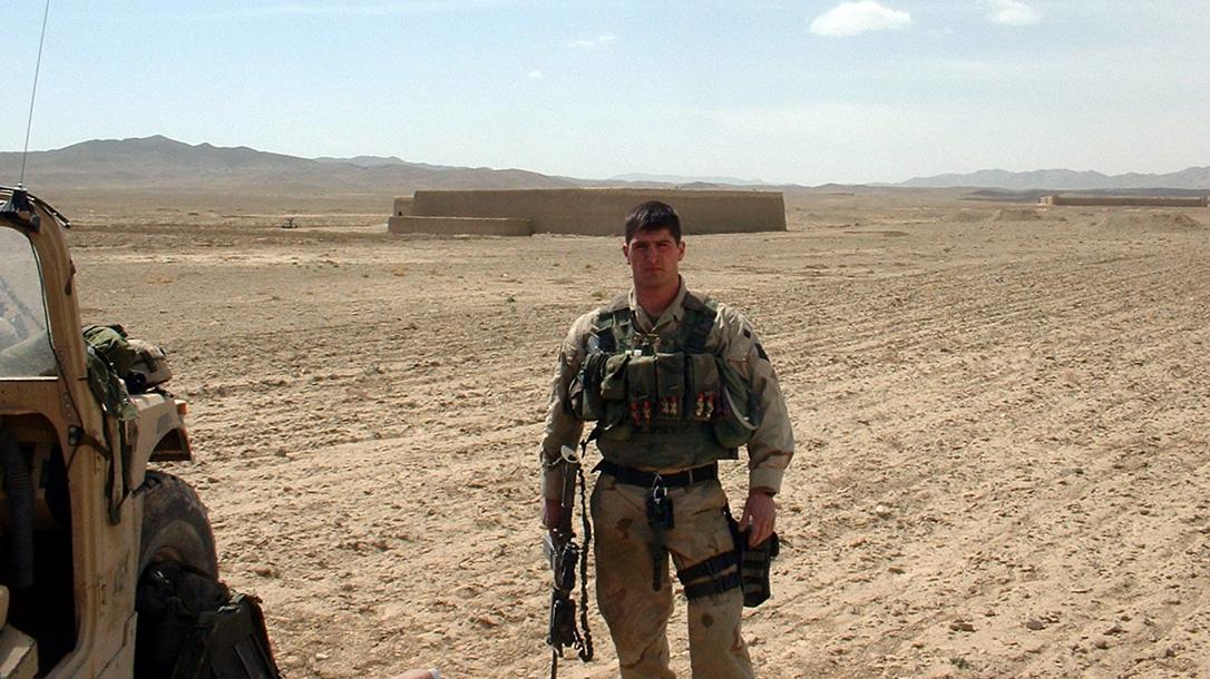 Army Ranger John Lovell deployed.