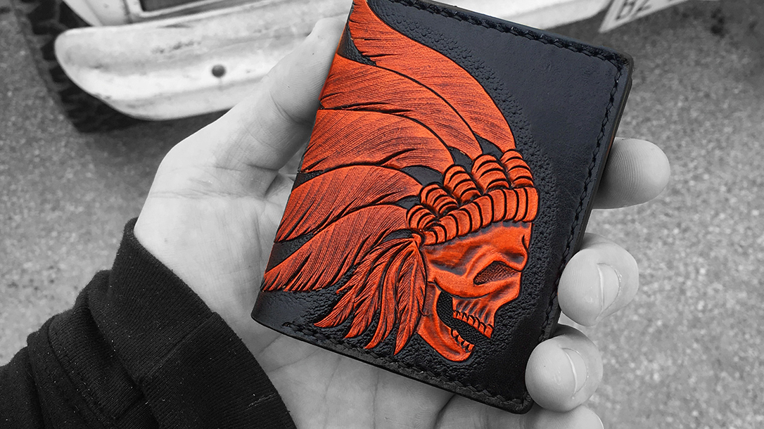 Handmade leather wallet from The Proper Gentleman.