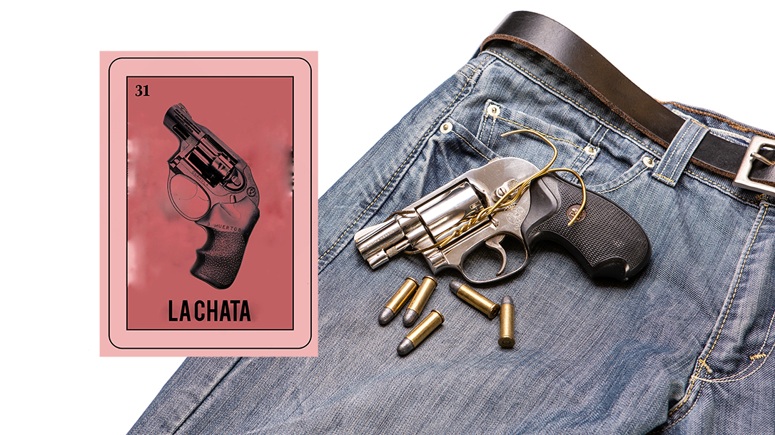 Small revolvers can fit in your pocket.