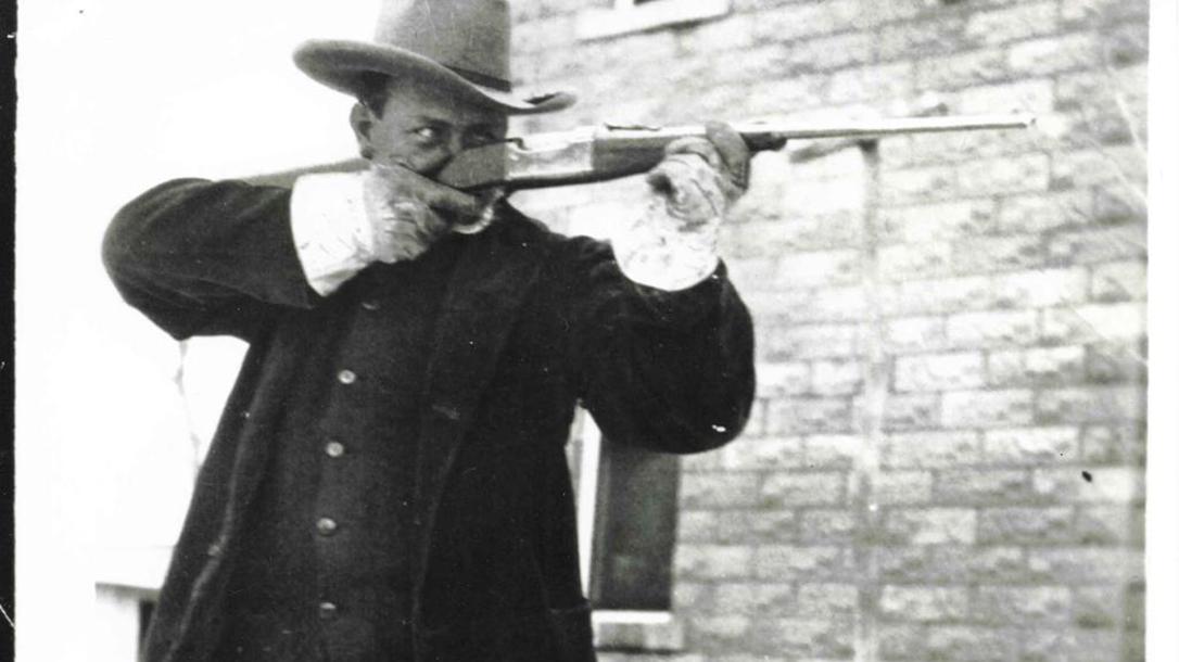 Texas Ranger Frank Hamer.