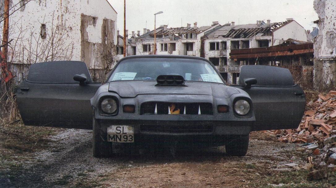 Helge Meyer's War Camaro