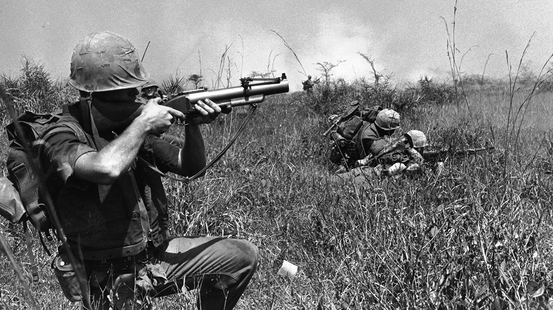 Marines with 1/9 in Vietnam.