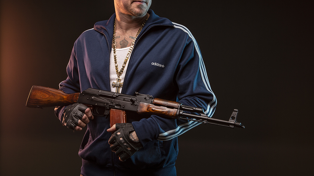 Russian Assassin And The Tools Of The Trade