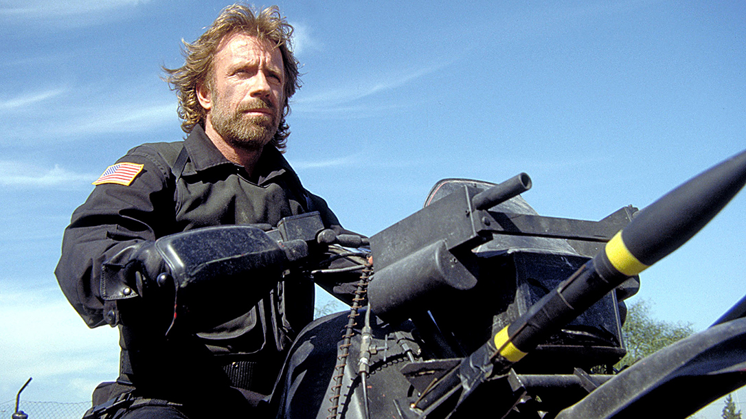 Chuck Norris in The Delta Force!