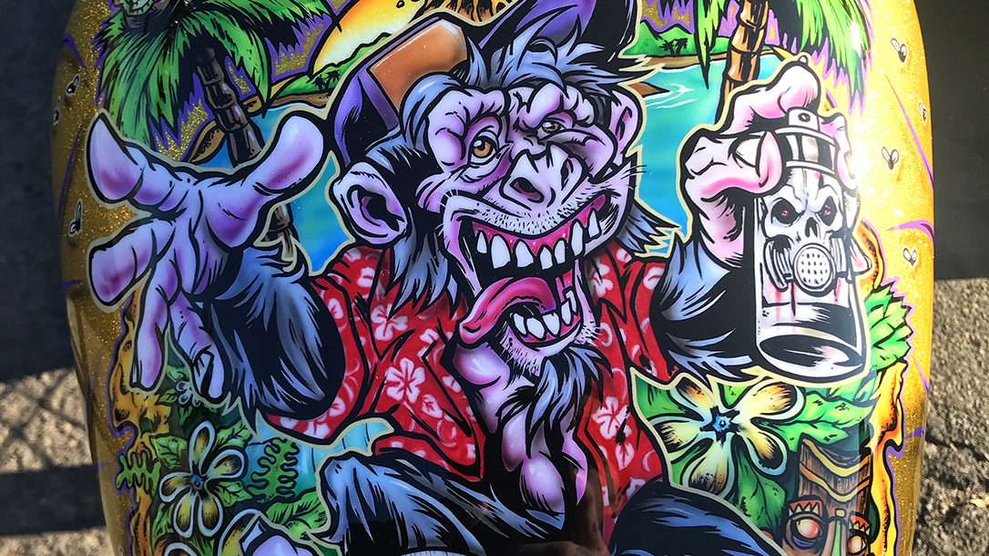 Artwork by Franny Drummond, owner of Paint Zoo Studios.