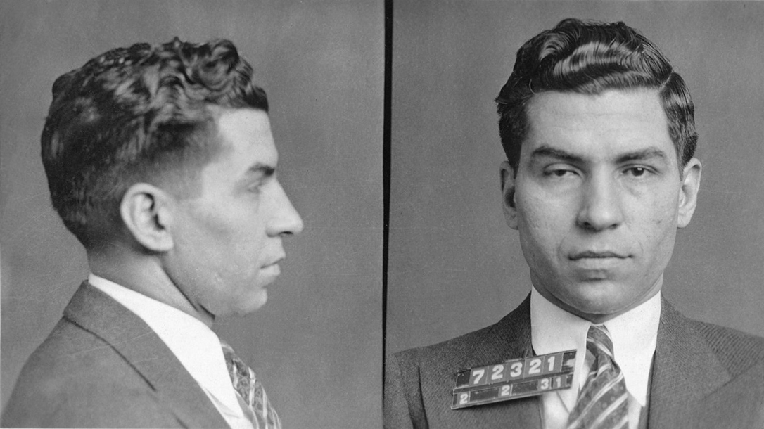Lucky Luciano's Mugshot
