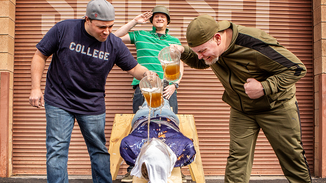 Drinking Games, Beer Boarding