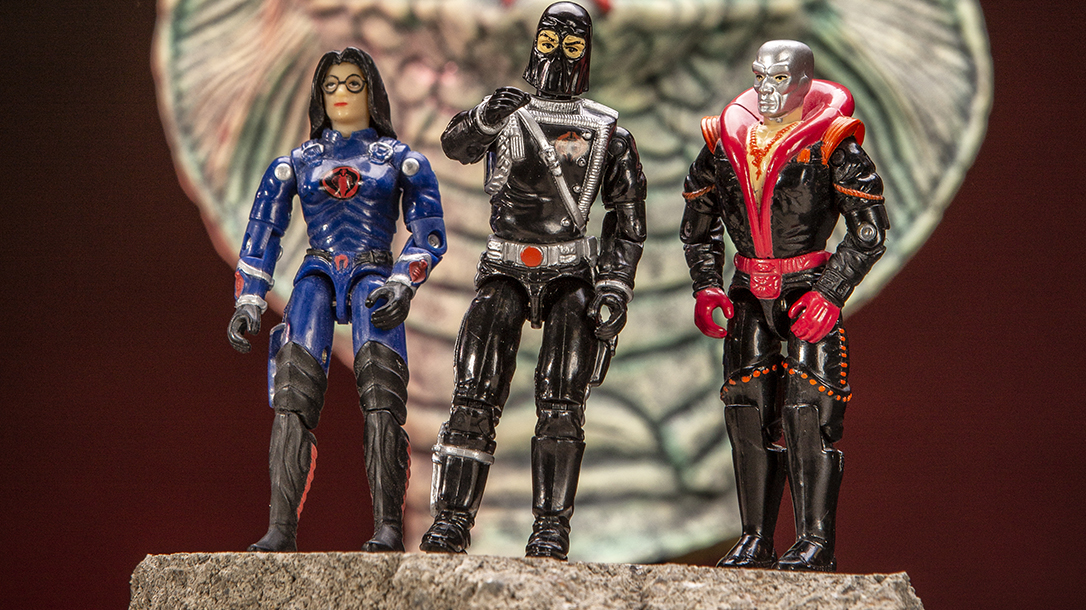 Cobra elite team with the G.I. Joe Collectables