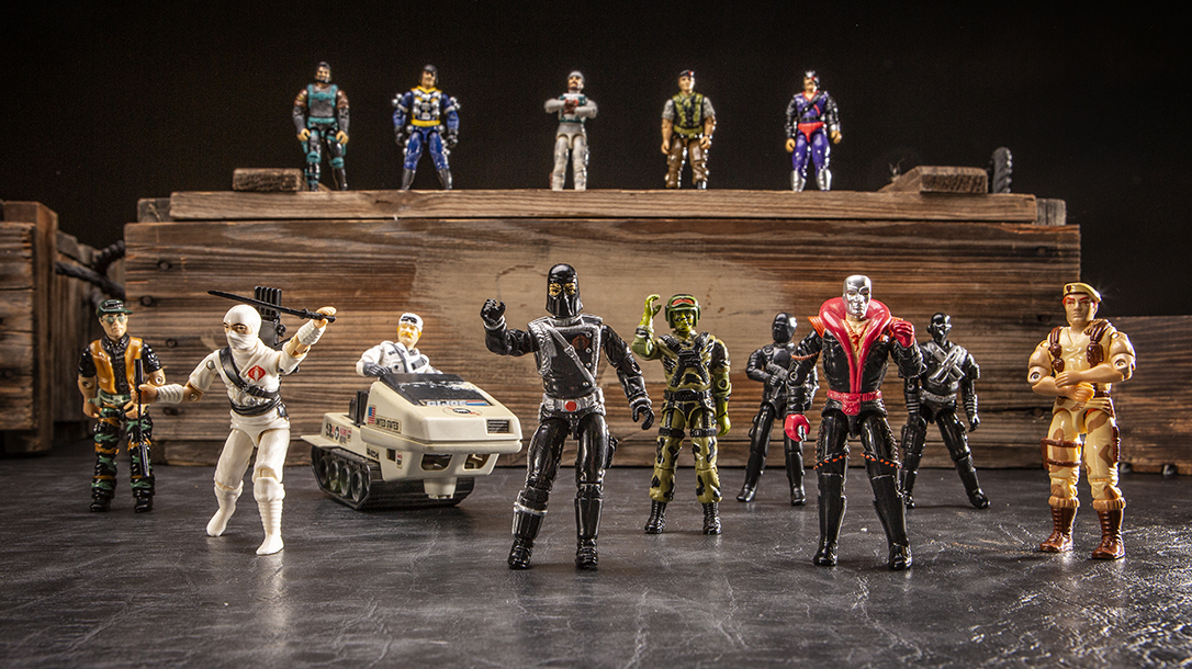 G.I. Joe Collectables shown here, ready for battle!