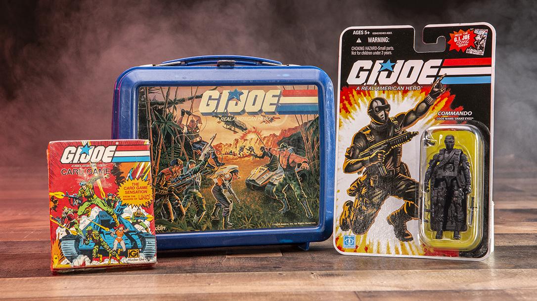 G.I. Joe merchandise is worth a lot of money!