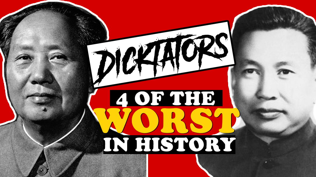 2 of the worst dictators in history shown here!
