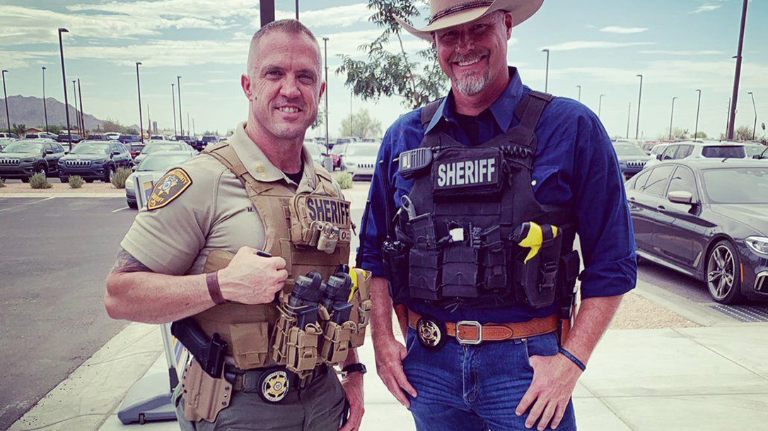 The American Sheriff Mark Lamb at work in Pinal County!