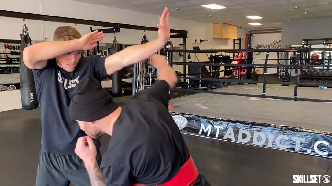 Long Guard Muay Thai, MMA, punch defense
