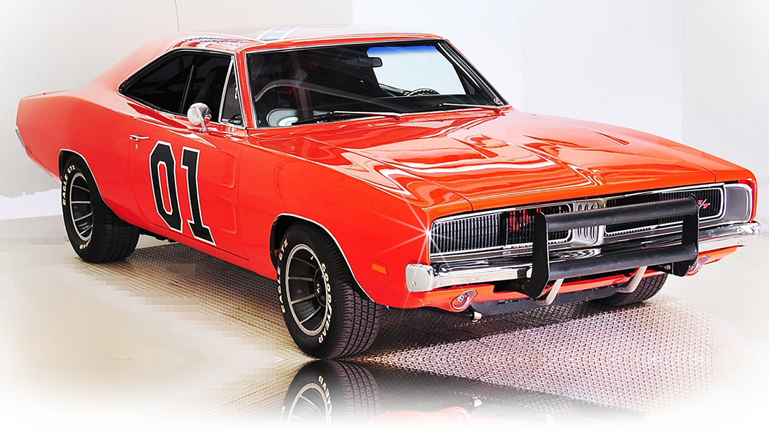 The General Lee is a 1969 Dodge Charger from Dukes of Hazard.