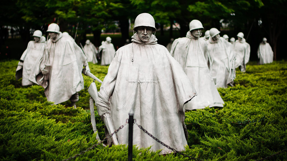 Korean War Veteran beats up attackers
