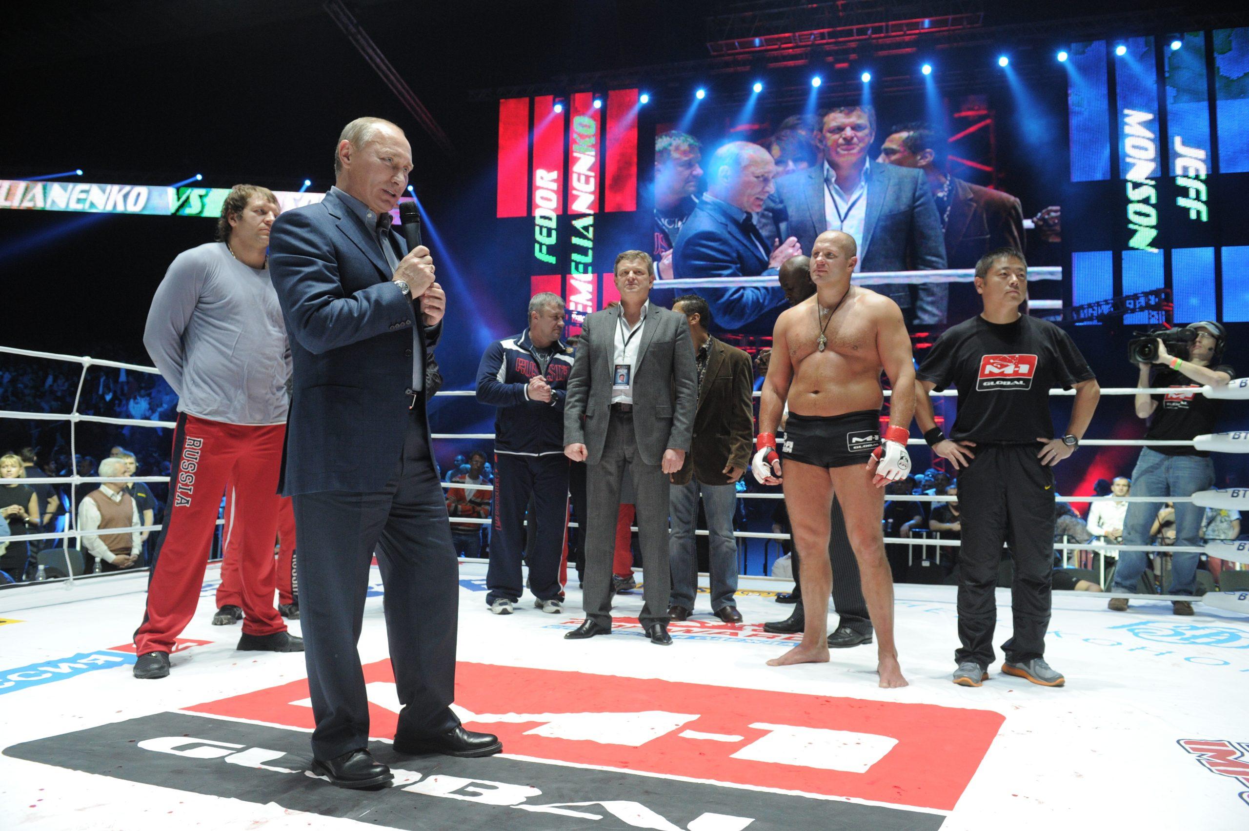 Emelianenko began his MMA career with four straight victories.