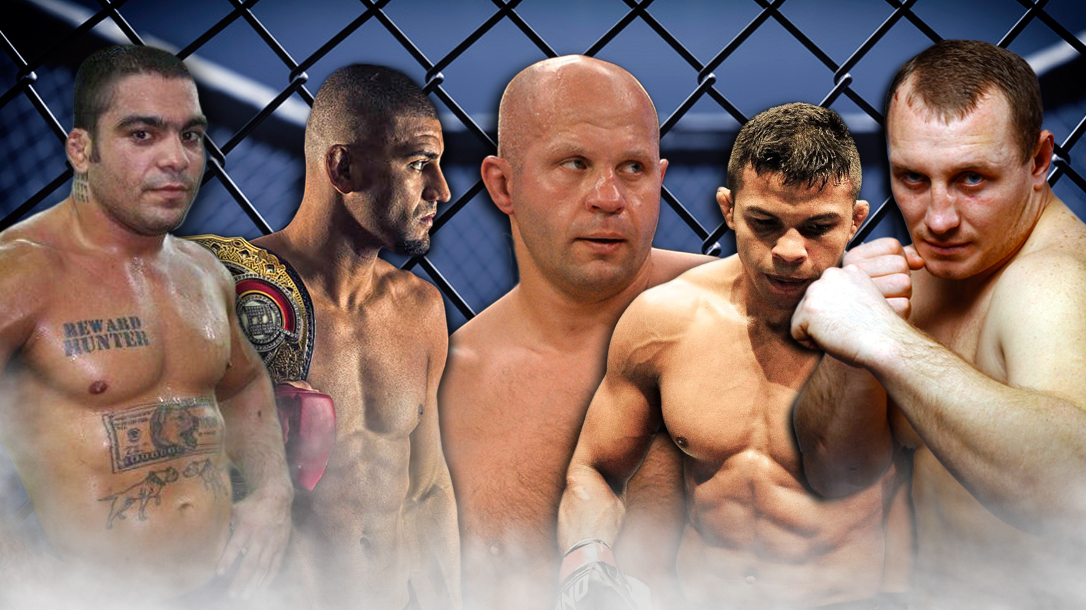 We list the 5 Best MMA Fighters of All Time that never went to the UFC.