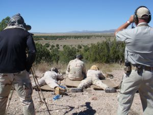 Long range rifle training