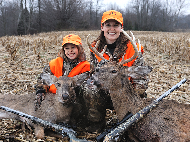 Secrets To Succulent Wild Game mother daughter