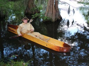 Dugout Canoe Build lead
