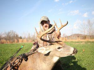Buck hunting