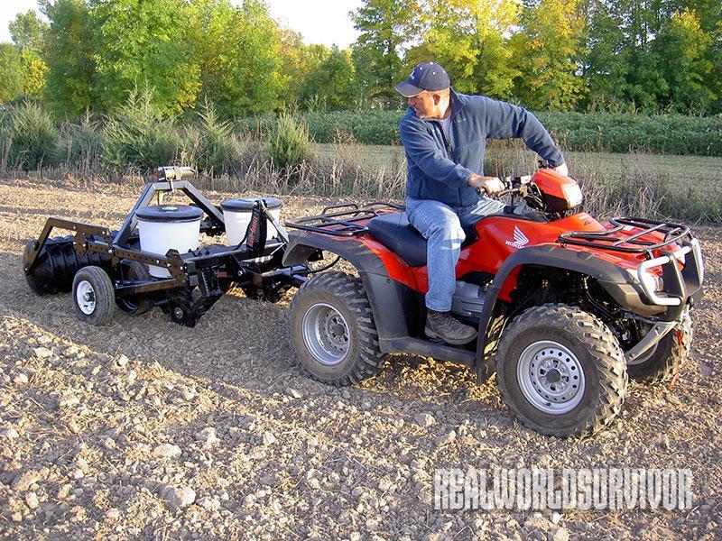 Make Your ATV Into A 4-Wheeled Farmhand
