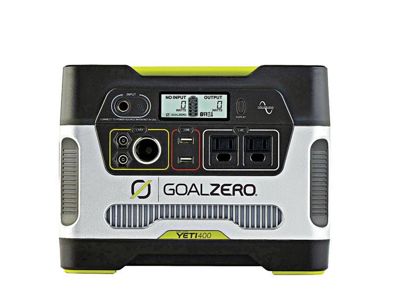 Goal Zero, generator, Goal Zero Yeti 400 Solar Generator