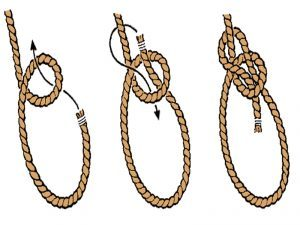 knot, knots, survival knots, rope, ropes