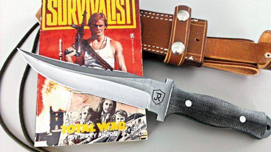 john thomas rourke, jerry ahern, survivalist, knife, knives, sharon ahern