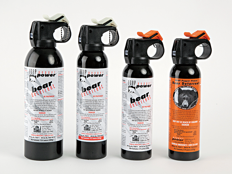 Bear Attack Survival spray