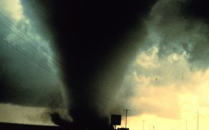 Escaping Twister Terror tornado author