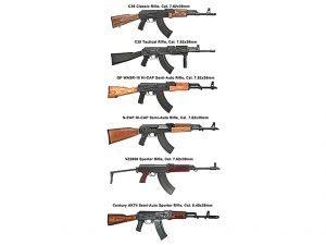 High-Caliber Stockpile rifle list