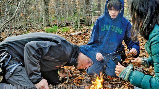 Navigating the Backwoods fire