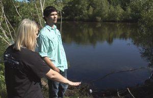 driver crash pond seizure