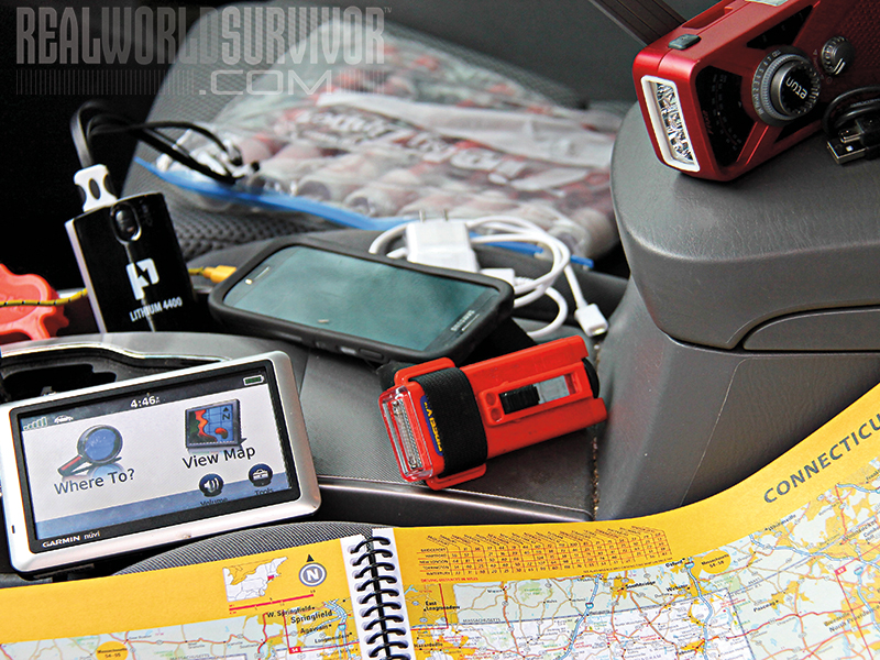 Vehicle Preparedness navigation