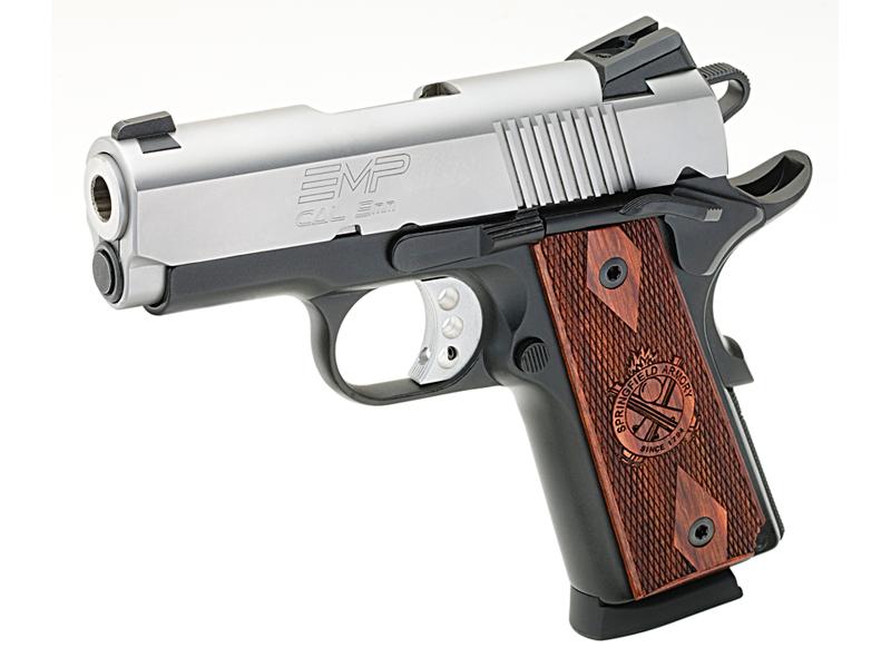 Springfield Armory, gun, guns, pistol, pistols, Springfield Enhanced Micro Pistol (EMP)