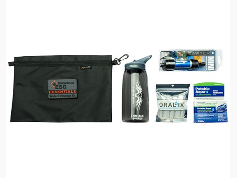 Brownells ESG Essentials Water Filtration Kit