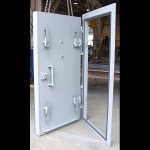 American Safe Room Single leaf Blast Door evergreen factory