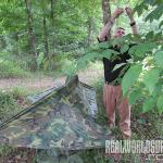 Backwoods Shelter evergreen Step 7