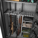 Barska FV-3000 Fireproof Vault Safe open