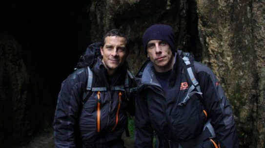 bear grylls, ben stiller, running wild with bear grylls