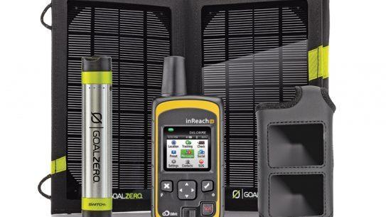 DeLorme, communication, navigation, off-grid, solar panel
