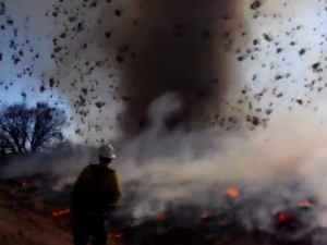 Dust Devil Colorado burn