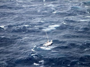 Hurricane Julio sailboat rescue